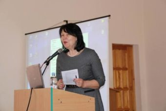 The Conference is opened by the Rector, Prof. Nadiya Skotna