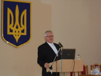 An honorary doctor of our University, Rector of the Polonia Academy in Czestochowa (Poland)