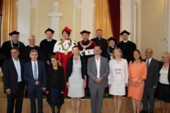 Participants of the ceremonial session of the Academic Council