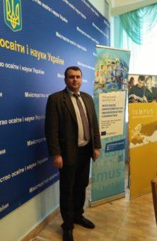 Acting Vice-rector for scientific and pedagogical activities Associate Professor Yuriy Vovk