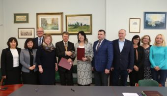 Drohobych University delegation with the management of The Witelon University of Applied Sciences in Legnica