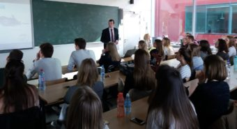 Associate Professor Vitaly Fil lectures on Health of the future generation project