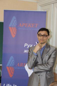 Amet Bekirov, Chairman of the Areket NGO