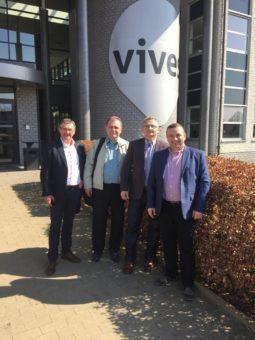 Left to right – Ivan Van Hulle, Victor Lishniansky, Ihor Zubrytsky, Ihor Hrynyk
