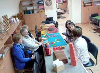 Workshop according to the method of Maria Montessori