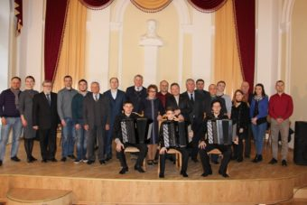 Participants in the 10th International Contest of Bayan Accordion Players «Perpetuum mobile» Contestants