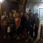 In the salt mine in Bochnia
