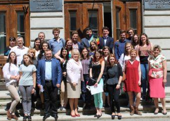 Participants of the Ukrainian-Belgian Week