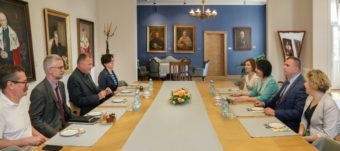 During negotiations between the rectors