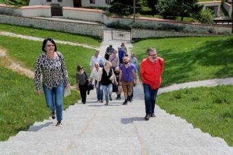 Arrival in Kazimierz Dolny