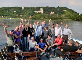Boat trip down the Vistula. Kazimierz Dolny views.