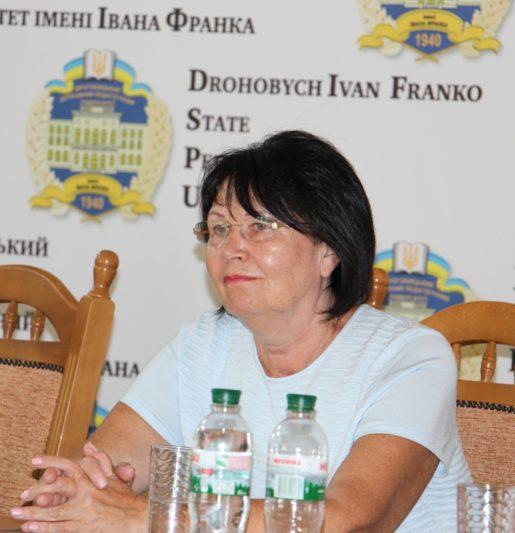 Rector Prof. Nadia Skotna