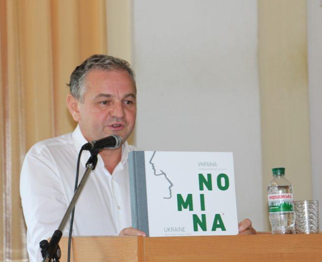 Ihor Kurus thanks the participants
