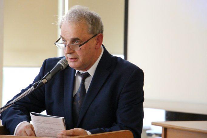 Speech by the Director of the Museum of Anna and Jaroslaw Iwaszkiewicz in Stawiszcze Mariusz Olbromsky