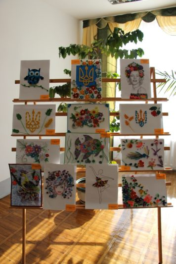 Exhibition of student works