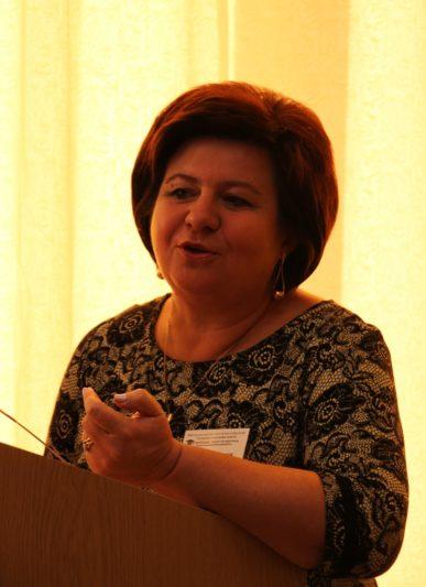 Professor Tetyana Pantiuk reports
