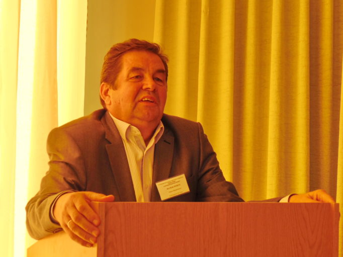 Professor Vasyl Greschuk reports