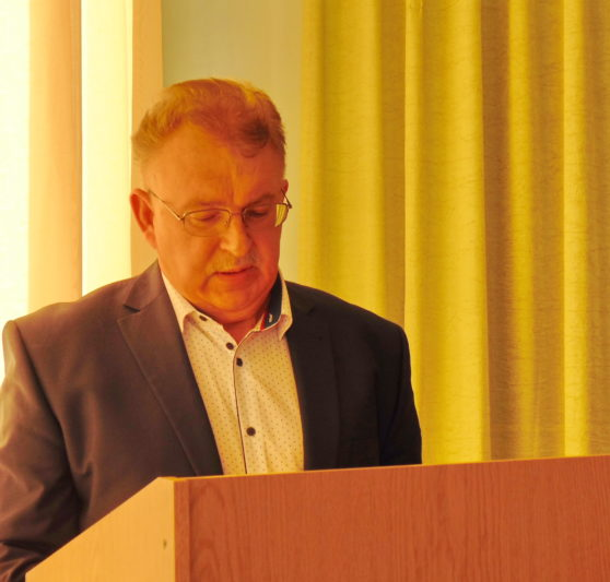 Professor Yaroslav Yaremko reports