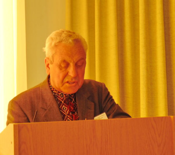 Report by Professor Mykola Lesyuk