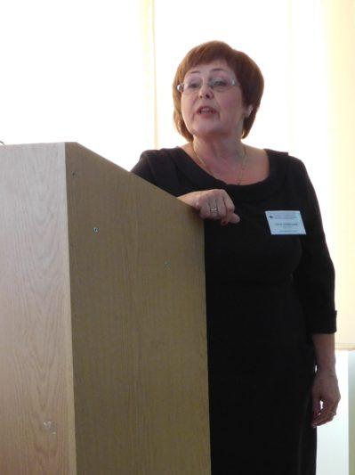 Report by Senior Lecturer Lesya Luzhetska