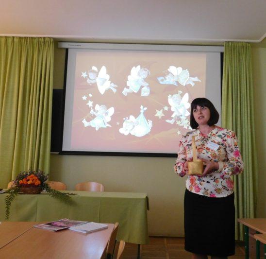 Speech by the a teacher of Drohobych School No. 4 Nelia Lutyk