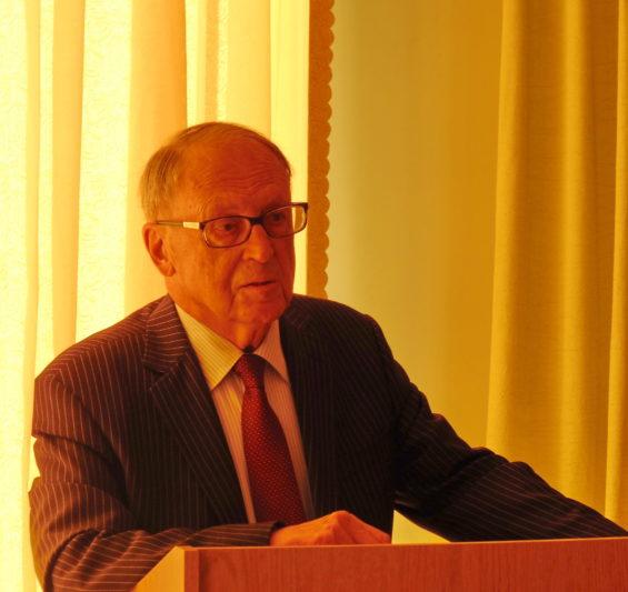 Vitaliy Kononenko, Academician of the National Academy of Sciences of Ukraine, speaking