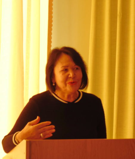 Welcoming speech by the rector Professor Nadiya Skotna