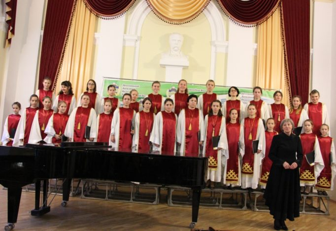 "Performance of children's choir ""Vidlunnia"""