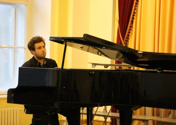 """""""A Sad Song"""" performed by student Yevhen Sovyak"""