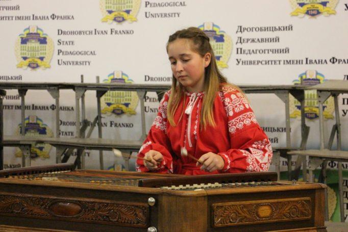 Performance by a pupil of Drohobych Music School №2 Marta Bun