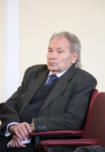 The lecture was attended by Professor Mykhailo Shalata