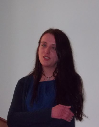 A student of the John Paul II Catholic University in Lublin Magda Radvanska