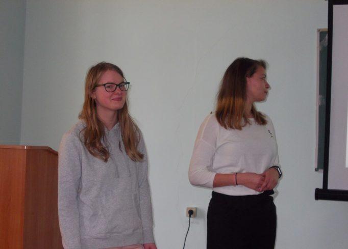 Students of the VIVES University College (Belgium).