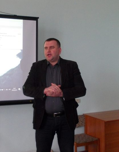 Welcoming speech of Vice-rector Assistant Professor Yuri Vovk