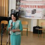 The head of the organizing committee, rector Professor Nadiya Skotna launches the contest