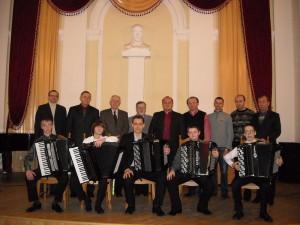 Концерт баяністів-акордеоністів