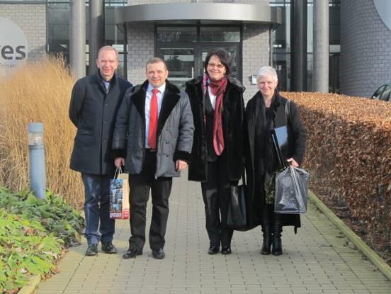 Робочий візит до університету КАТО у Бельгії