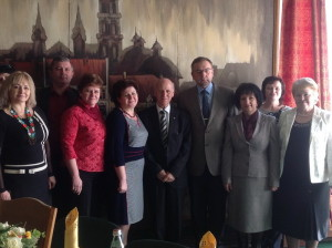 Учасники семінару з проф. Ш. Амонашвілі