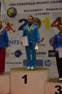 Вероніка Сенюх – чемпіонка Європи з ушу