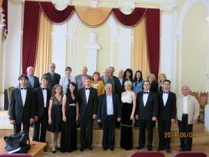 Учасники концерту вокальної музики