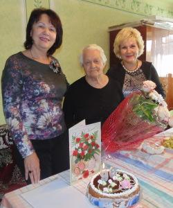 Зліва направо: Н. Скотна, М. Захарова, О. Куцик
