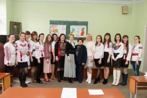Вшанування Тараса Шевченкка на філологічному факультеті
