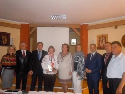 Четверта зліва проф. С. Щудло