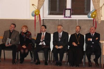 Зліва направо: І. Гівчак, О. Кравченко-Дзондза, В. Шаран, Ю. Кишакевич, о.О. Кекош, І. Кутняк