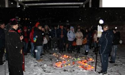 Спільна молитва  за невинно убієнних жертв  голодомору 1932-33 рр. та тоталітарних репресій