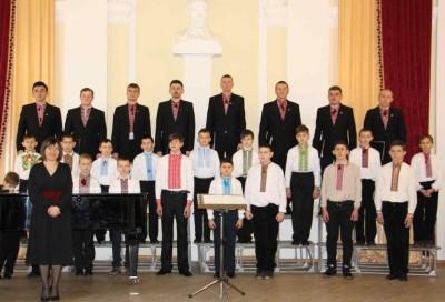 Хор хлопчиків «Кобзарик» (м. Самбір) із керівником – Тетяною Стоянською та «Боян Дрогобицький».