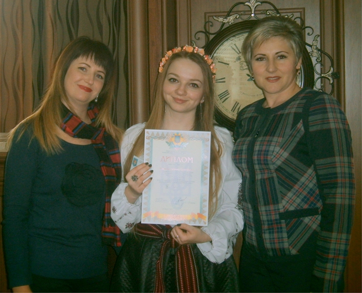 На фото зліва направо Ірина Садова,  Тетяна Ісупова, Леся Колток