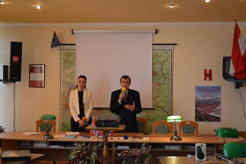 """Презентація проекту """"Австрія та Україна: міжкультурний діалог"""""""