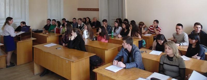 Доповідь студентки на секційному засіданні «Екологія»