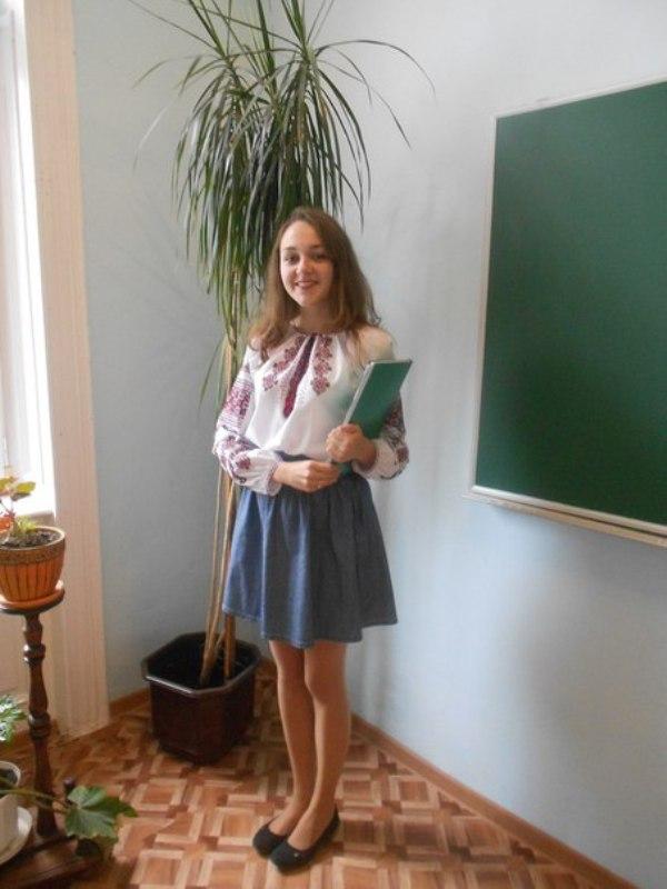 Зоряна Ізак студентка Б-11 (М)